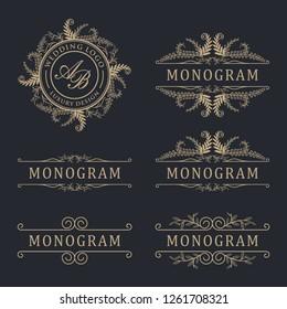 Luxury logo wedding