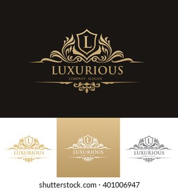 Luxury Logo,Vector logo template