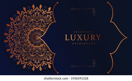Luxury mandala background with floral ornament pattern. Hand drawn mandala design. Vector mandala template for decoration invitation, cards, wedding, logos, cover, brochure, flyer, banner,  Isolated