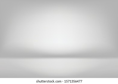 Luxury minimal abstract grey background .Modern layout design, studio ,room. Business report with smooth circle gradient color. Vector illustration