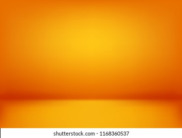 Luxury orange abstract background. Halloween layout design, studio, room. Business report paper with smooth gradient for banner, card. Vector illustration