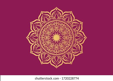 luxury ornamental mandala background design
