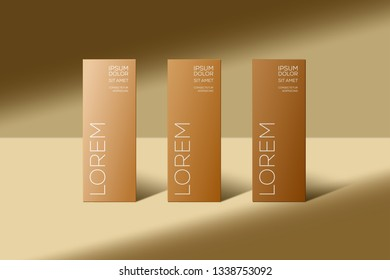 Luxury packaging templates texture for luxury products background