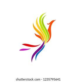 Luxury Phoenix Logo Design