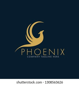 Luxury Phoenix Logo Template