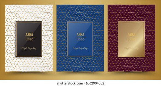 Luxury Premium menu design,Product cover Package, Bag,Financial Annual report for Business brochure layout design template, Flyer Design or Leaflet advertising,  A4 size illustrator
