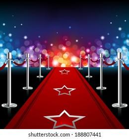 Luxury Red Carpet - EPS 10