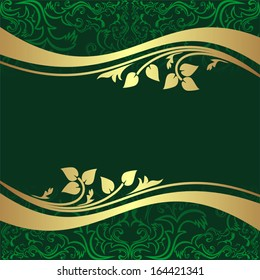 Royalty Free Background Green Gold Stock Images Photos