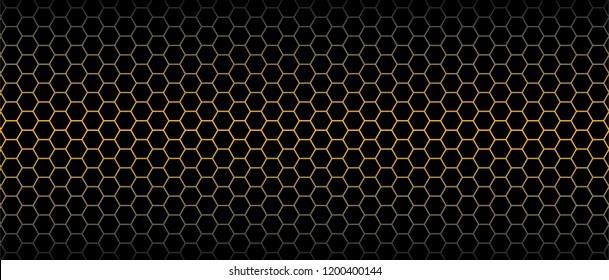 Luxury seamless geometric pattern. Grid hexagonal texture Dark vector background Honeycomb monochrome honey seamless pattern Vector eps hexagon mosaic background raster fun funny honey bee honeycombs