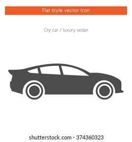 Luxury Car Icon Stock Vector Royalty Free 408088921 Shutterstock