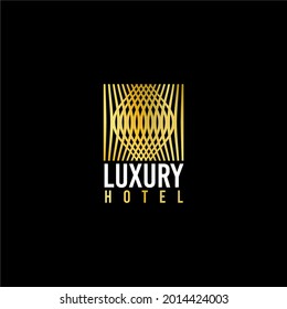 luxury and simple logo for hotel, entertainment venue, or for luxury place