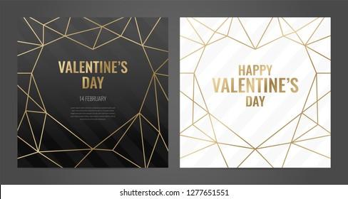 Goldene Hochzeit Karte Stock Vectors Images Vector Art