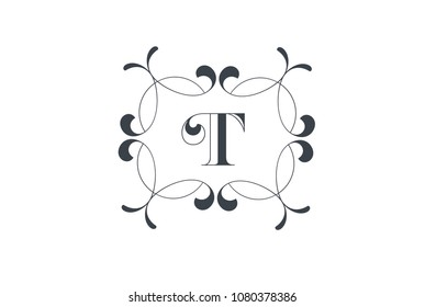 Luxury Vector Letter P Logo Design Stock Vector Royalty Free
