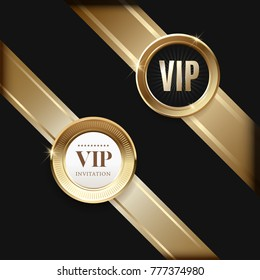 Luxury vip invitations