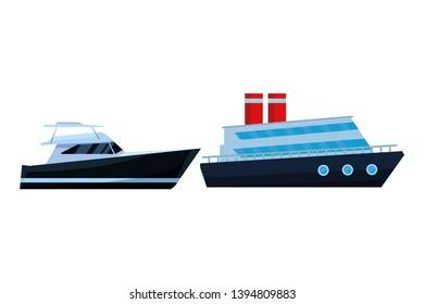Luxury yatch fast sea travel and yatch