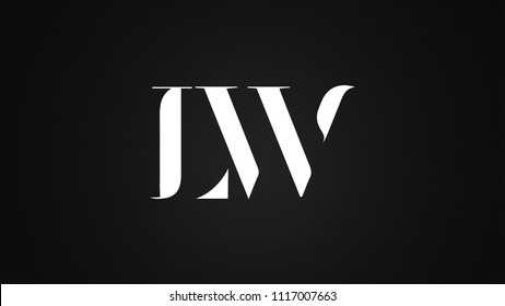 LW Letter Logo Design Template Vector