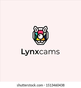 lynx with the concept camera full color logo