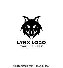 Lynx Logo Design Vector Template