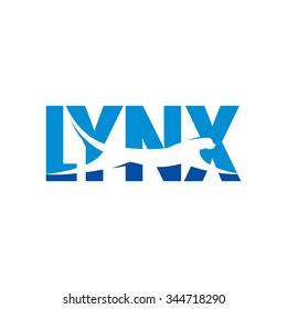 lynx logo vector.