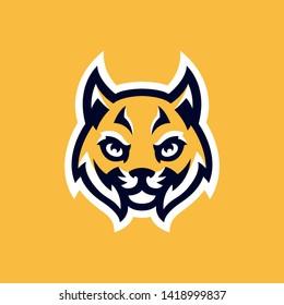 Lynx Wildcat Logo Mascot EPS 10