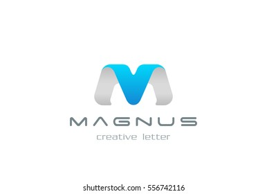 M letter Logo design vector template