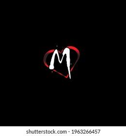 M Letter Love Hd Stock Images Shutterstock