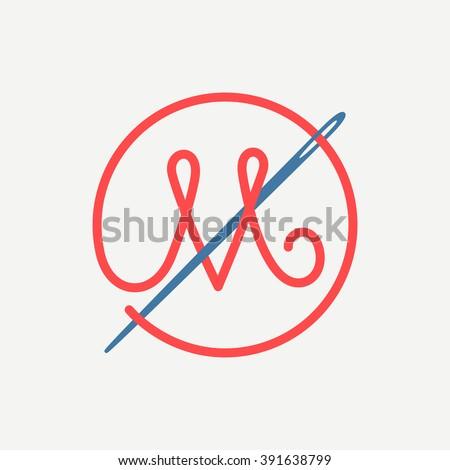 m-letter-logo-needle-thread-450w-391638799 Restriction Letter Template on sample light duty work, light duty pregnant, disability work, for work,