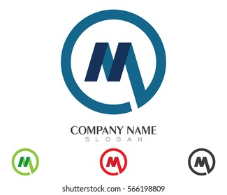 M Letter Logo Real Estate , Property and Construction Logo design for business corporate sign . Vector Logo .