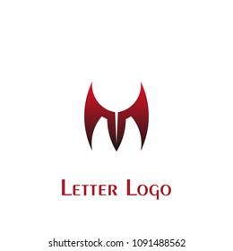 M letter logo, letter m vector graphic design, vector icons.