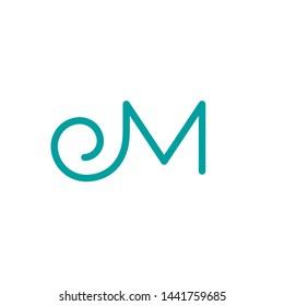 M letter vector logo. M letter icon. M letter emblem