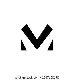 m logo design. letter logo design