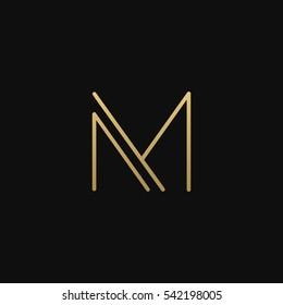 M logo icon