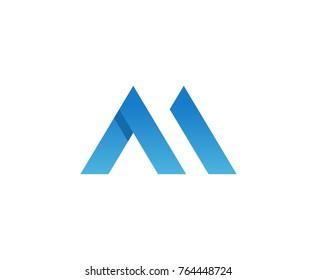 M logo letter