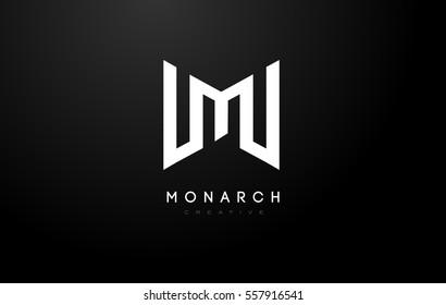 M Logo.M Letter Icon Design Vector Illustration.
