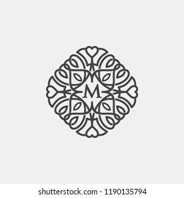 M Mandala logo