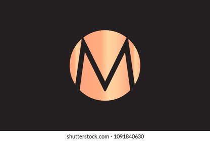 M MM Letter Initial Logo Design Template