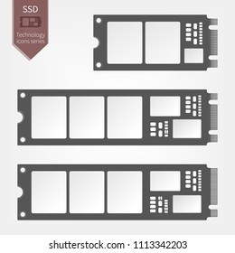 M.2 Solid State Drive in different form factor