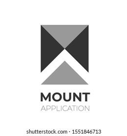 MA alphabet mount application logo