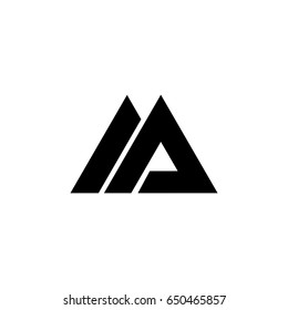ma letter logo