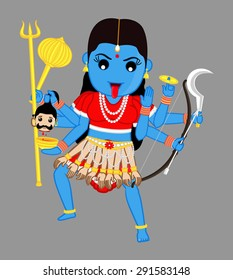 Maa Kali - Indian Mythological Goddess