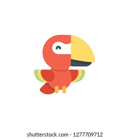 Macaw Vector Icon