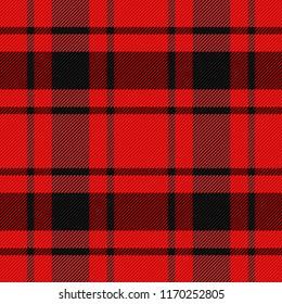 MacDonald Tartan pattern. Scottish cage. Scottish checkered background. Traditional scottish ornament. Scottish plaid in classic colors. Seamless fabric texture. Vector illustration