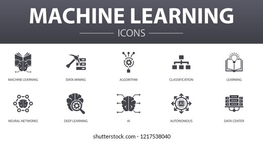 Imagenes Fotos De Stock Y Vectores Sobre Ai Machine Learning Icon