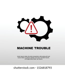 machine trouble. found engine trouble, Starts Automatically Symbol.