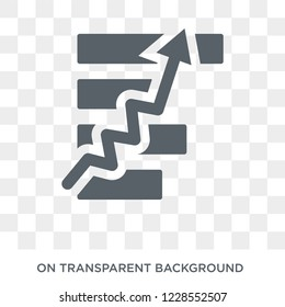 Macroeconomics icon. Trendy flat vector Macroeconomics icon on transparent background from Business  collection.
