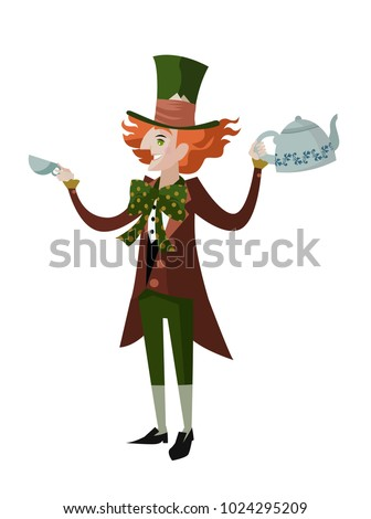 mad hatter classic tale