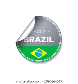 MADE IN BRAZIL EMBLEM BADGE