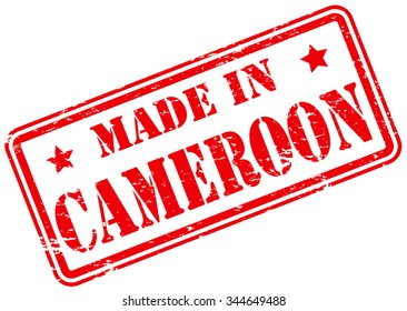 Made in Cameroon Rubber Stamp