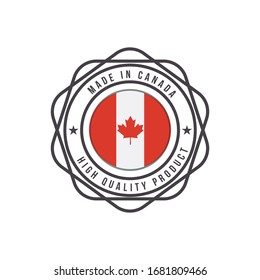 Made in Canada Emblem Badge
