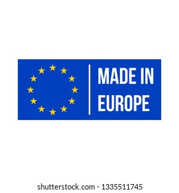 Goede Made in Eu Images, Stock Photos & Vectors | Shutterstock FN-51